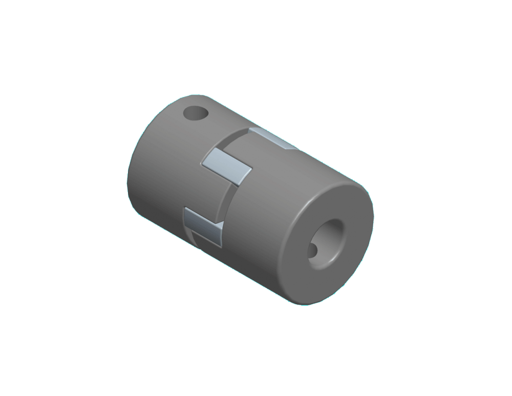 "1100 Conveyor Accessory - Coupling Half, 0.375"" bore"