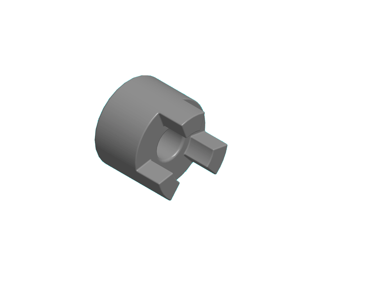 1100 Conveyor Accessory - Coupling Half, 10mm bore