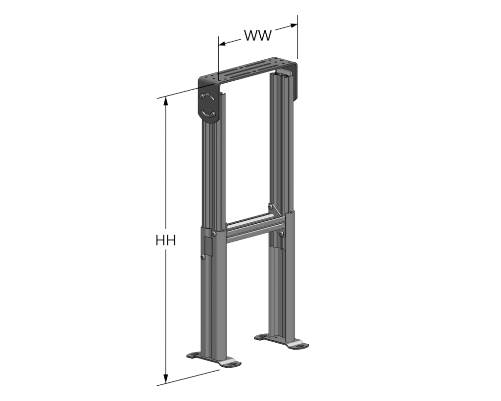 Adjustable Height Support Stand