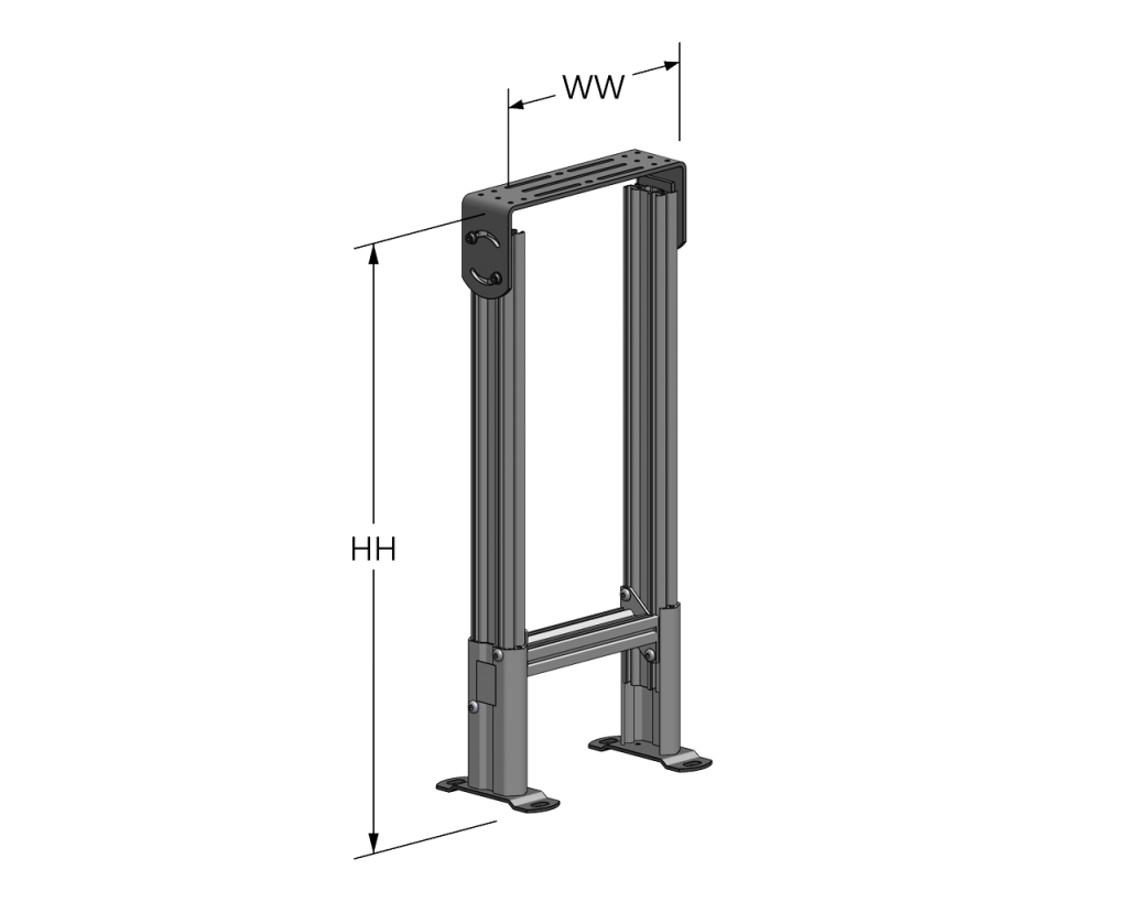 Fixed Height Support Stand