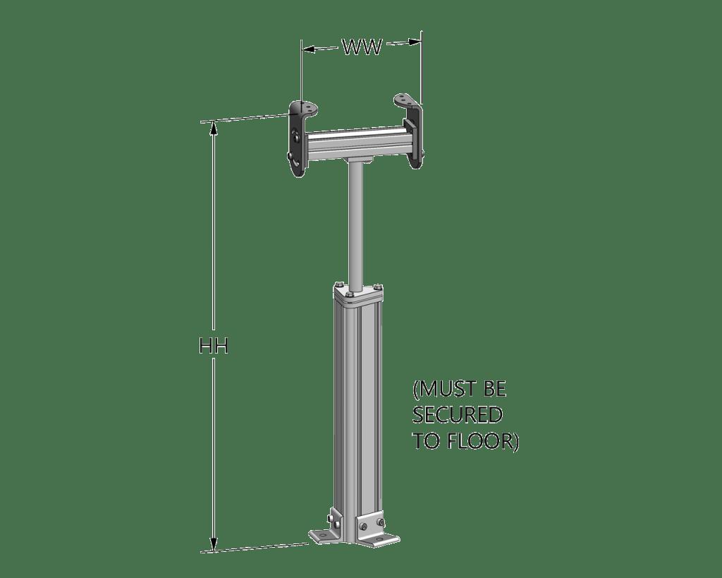 Pillar Support Stand