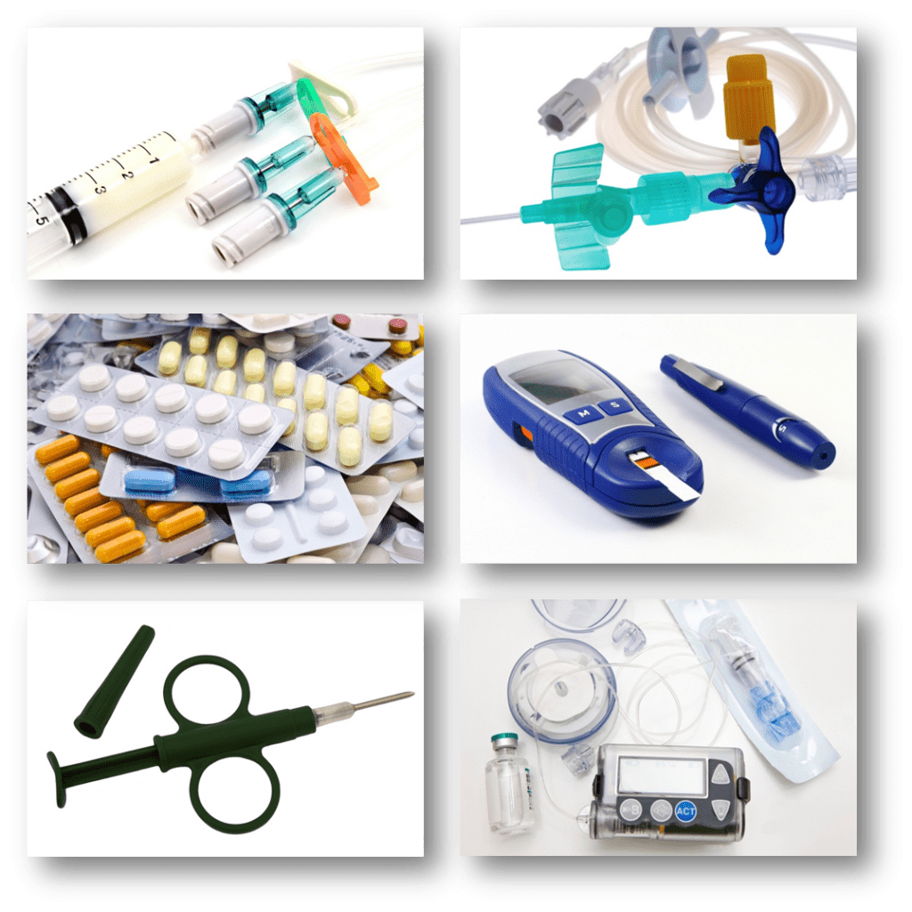 Medical Supplies Product : Efficient pharmaceutical and medical product handling