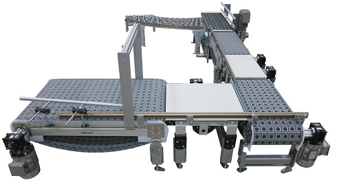 3200 Series Conveyors with Intralox's patented Activated Roller Belt