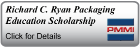 Scholarship banner Richard C. Ryan Packaging Education PMMI