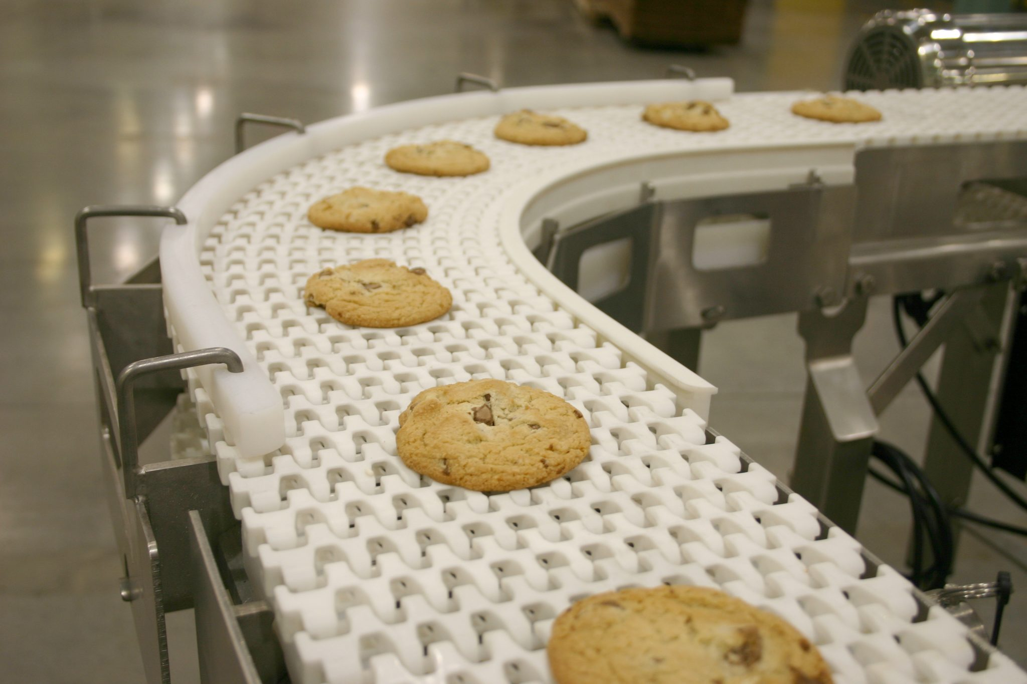 Dorner Conveyors AquaPruf Plastic Chain Conveyors