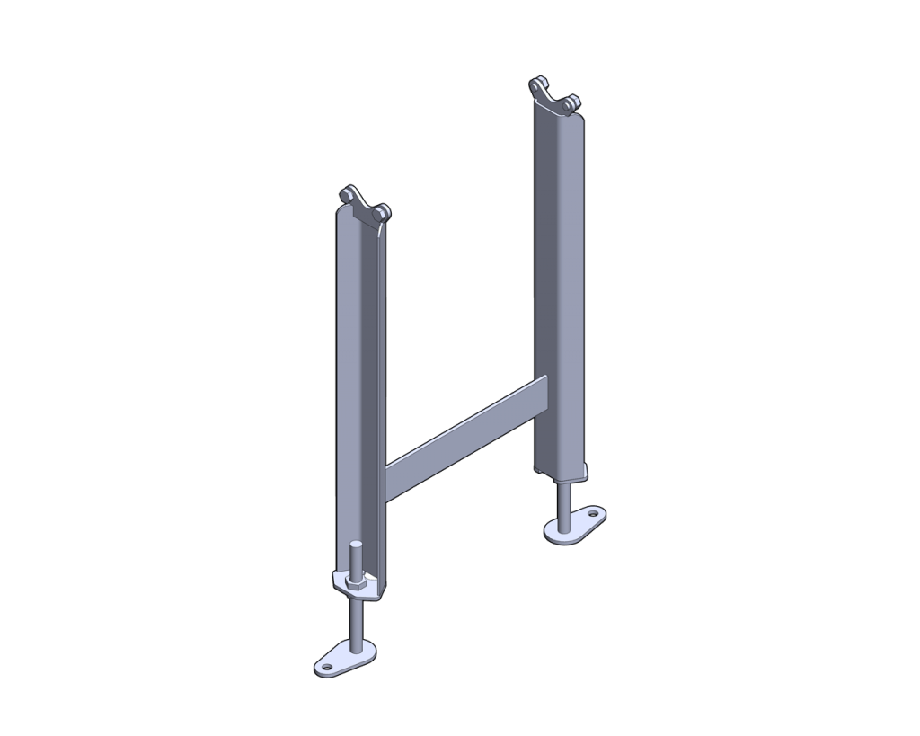 Medium Channel Fixed Foot Stand