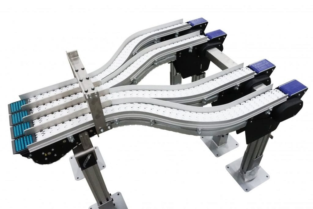 1 to 4 Lane FlexMove Merge