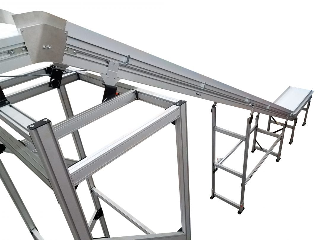 Tower Conveyor System Incline