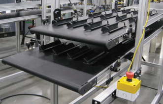 Transforming Limited Space through Two-Tierred Conveyor System