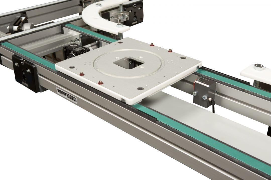 smart conveyors - Dorner 3200 Precision Move Pallet System Conveyor
