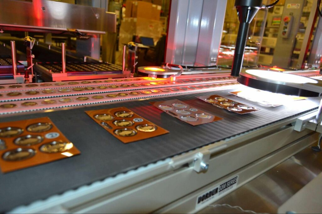 smart conveyors - indexing and positioning - Dorner